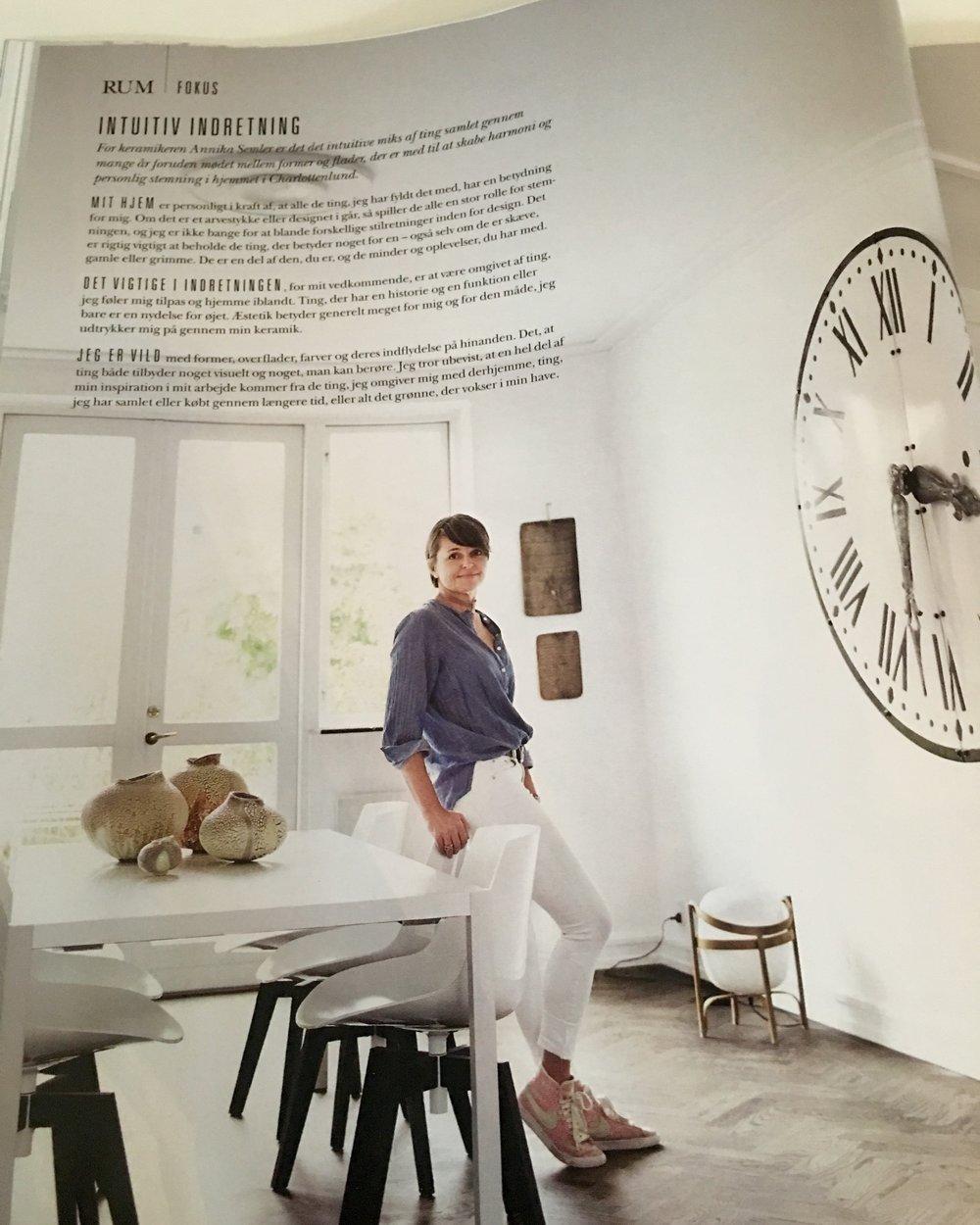 Artikel i magasinet RUM i oktober 2016