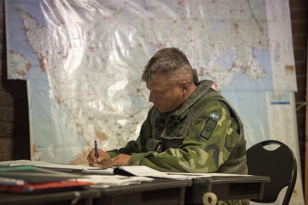 STABSASSISTENT -> PROJEKTKOORDINATOR - Foto: Joel Thungren/Combat Camera/Försvarsmakten