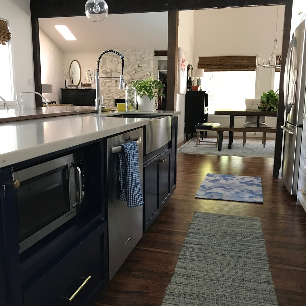 KITCHEN FINISHES — A Happening House