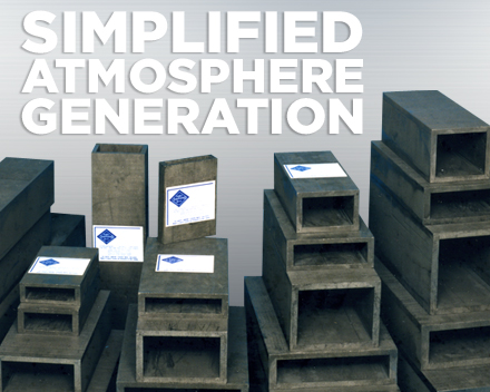 Simplified Atmosphere Generation