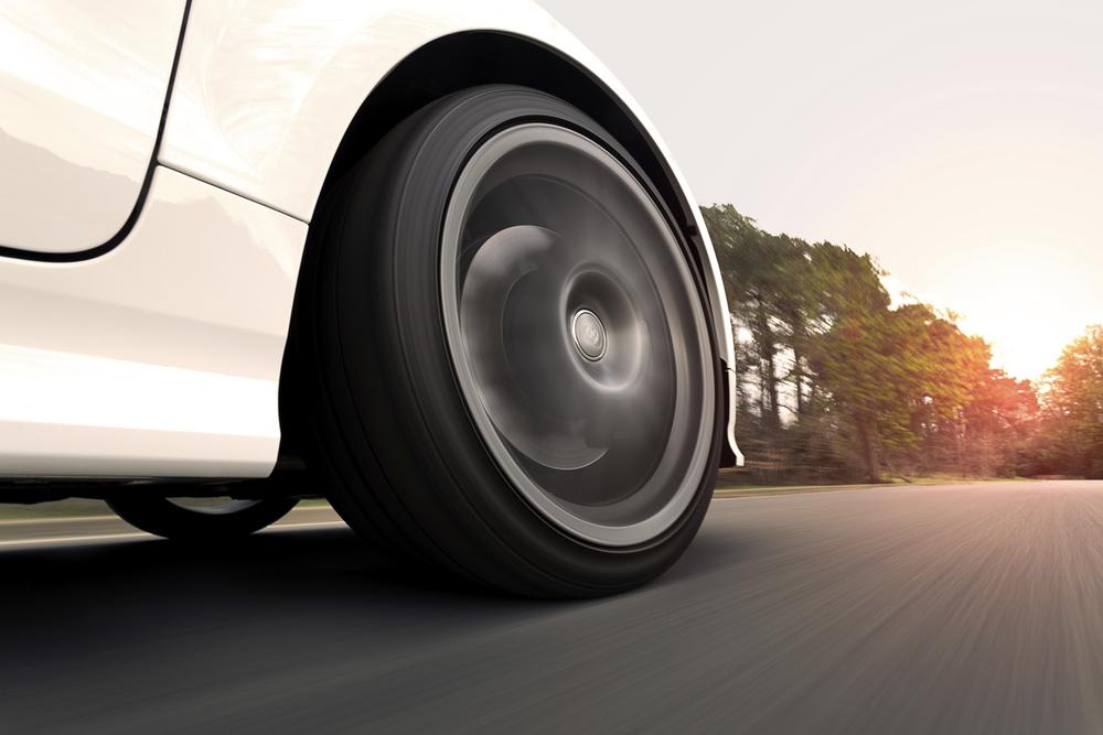 New tires in Escondido at Audiosport.