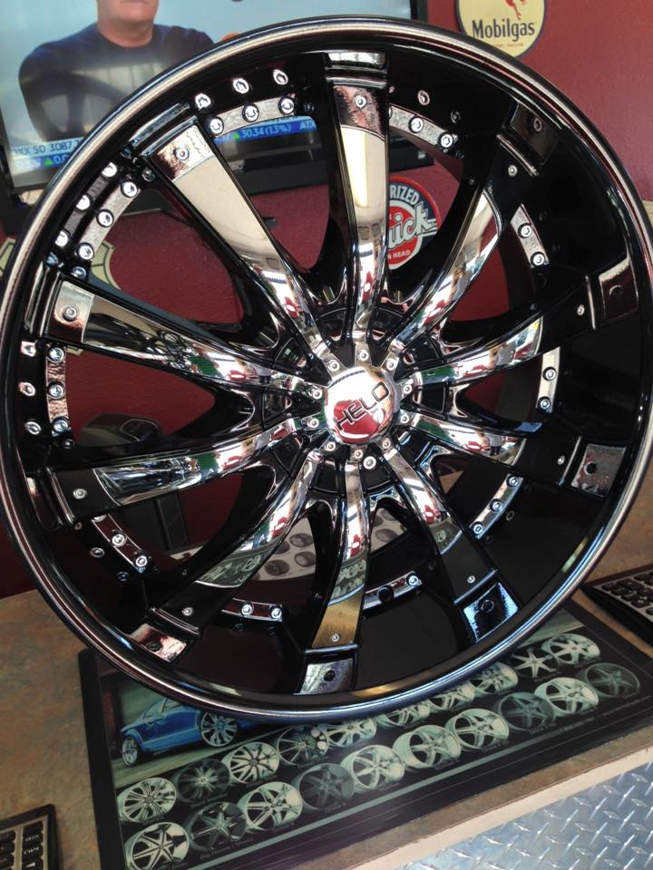 "Chrome 24"" Rims"