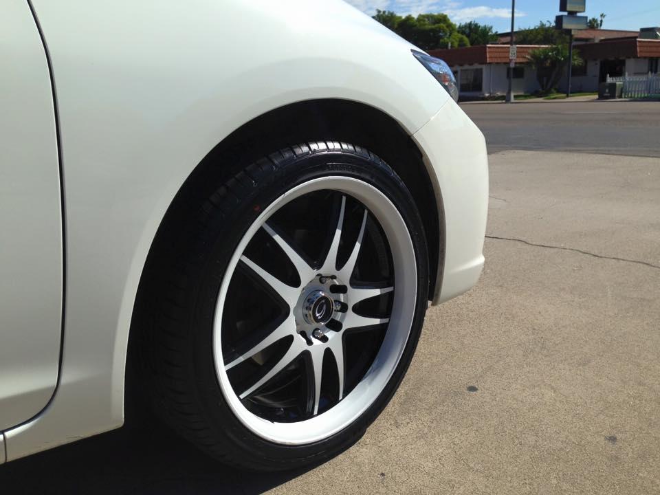 "18"" Custom Painted Wheels Kit"