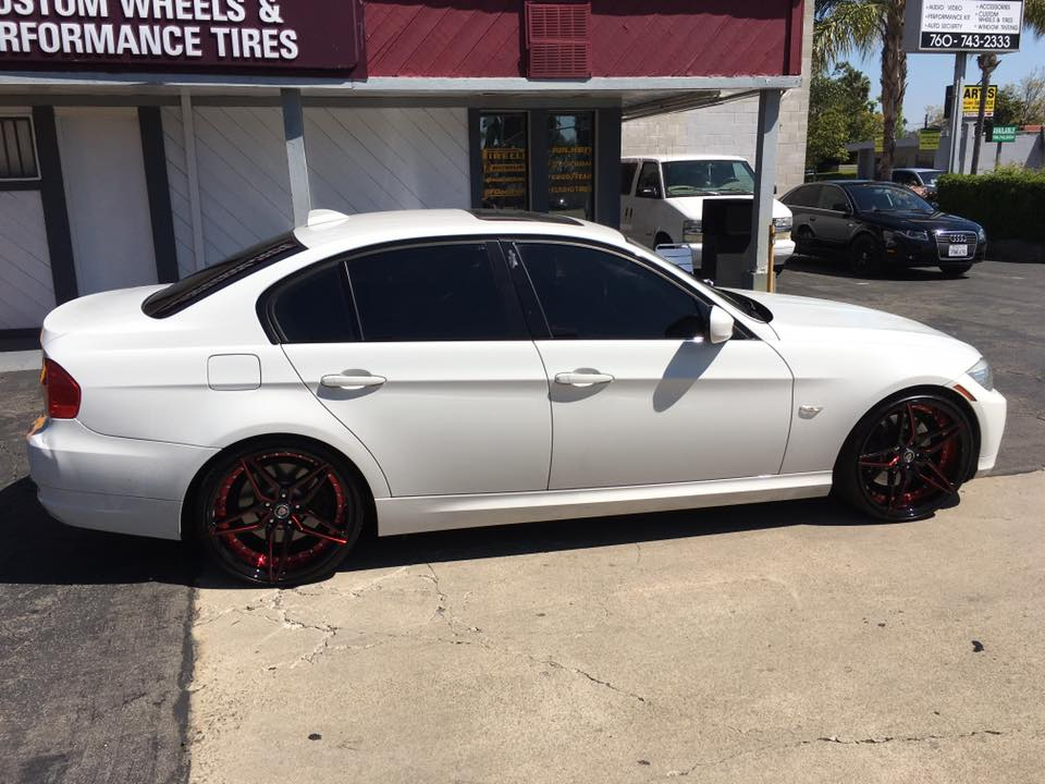 Rims and Window Tinting in San Diego