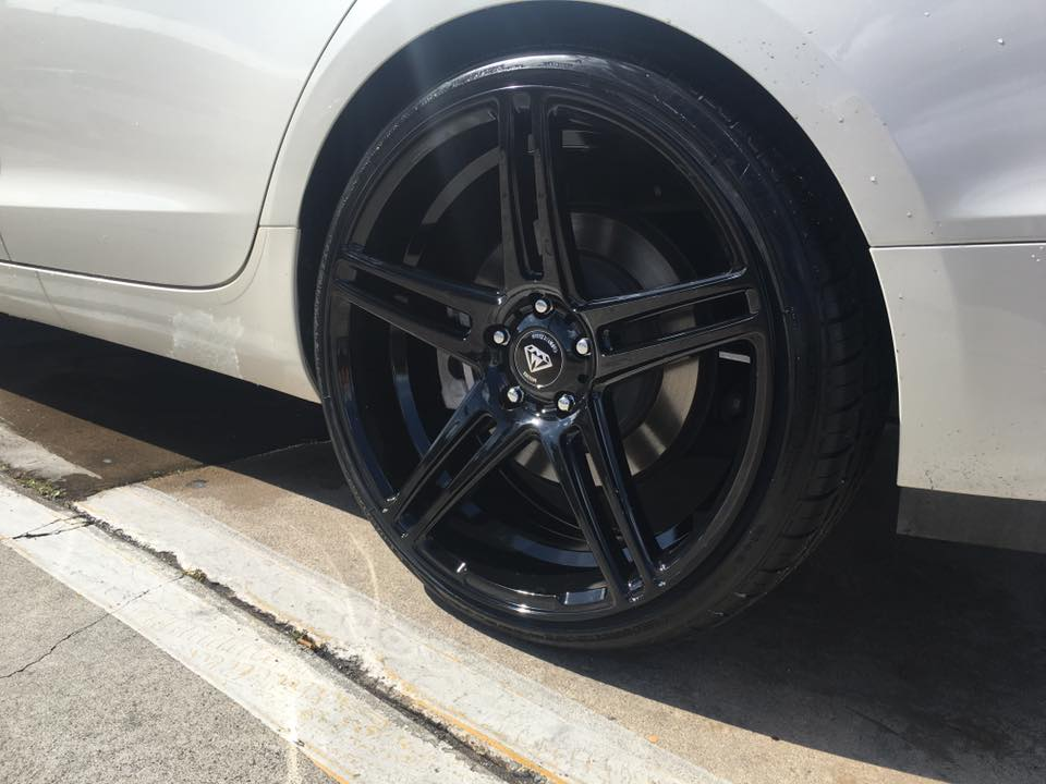 Fresh car rims from Audiosport San Diego