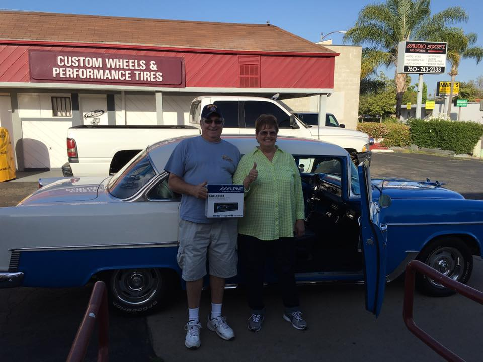 Another happy customer at Audiosport Escondido
