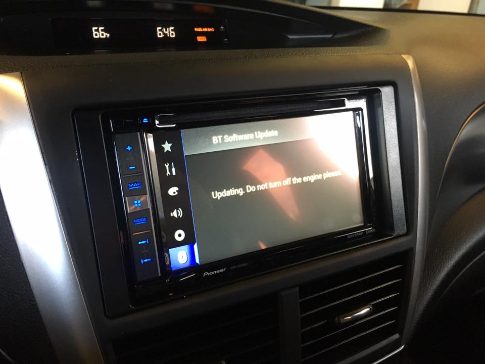 Touchscreen Car Stereo System at Audiosport
