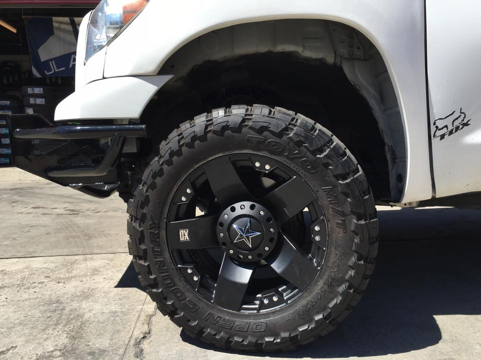 Get custom rims installed in Escondido