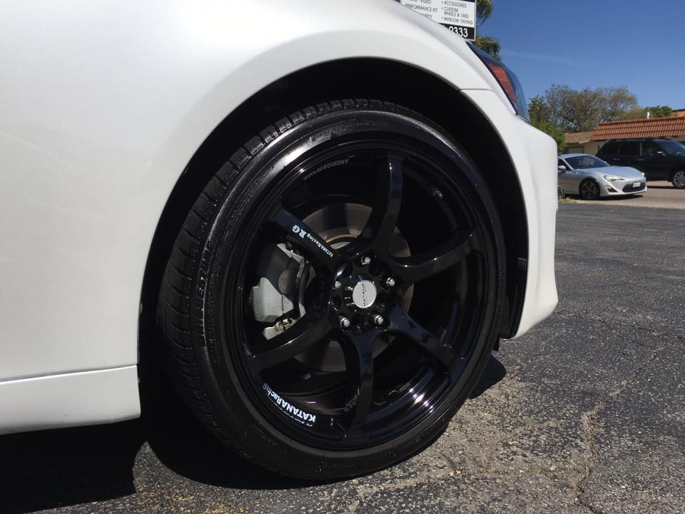 Get new rims installed at Audiosport