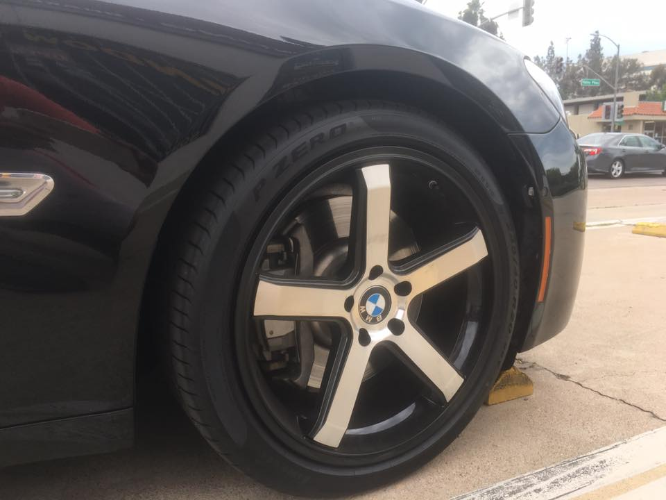 New rims at a great price at Audiosport Escondido