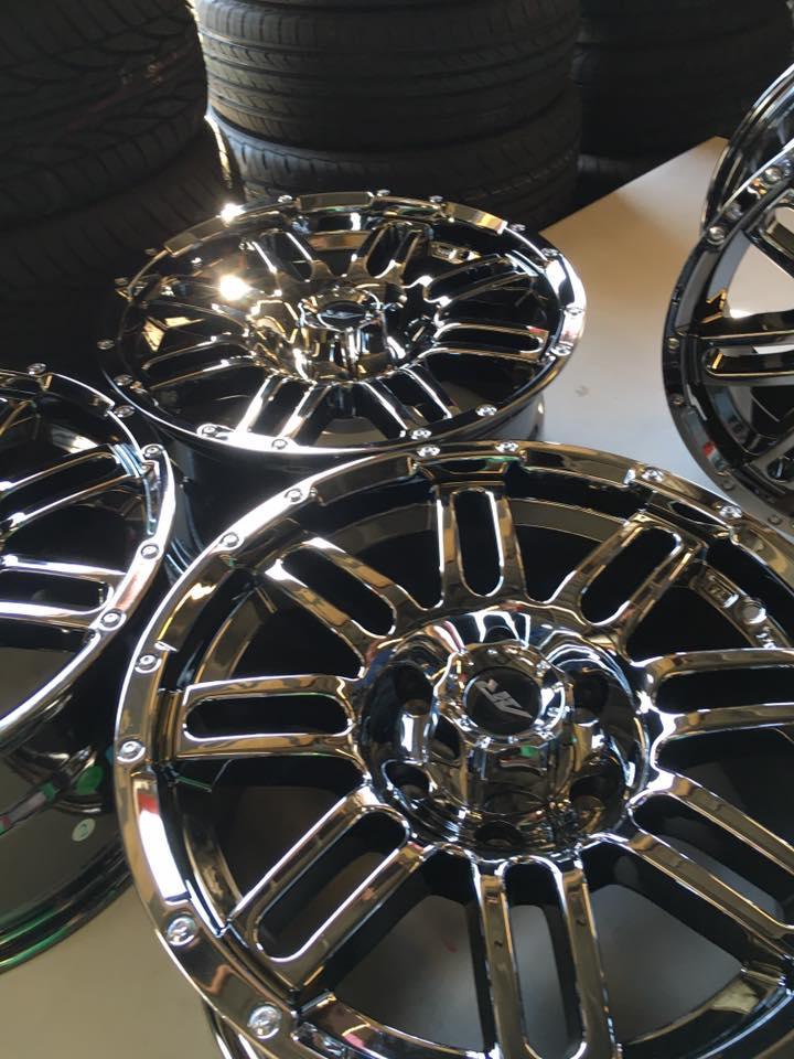 Chrome Rims for your car at Audiosport Escondido