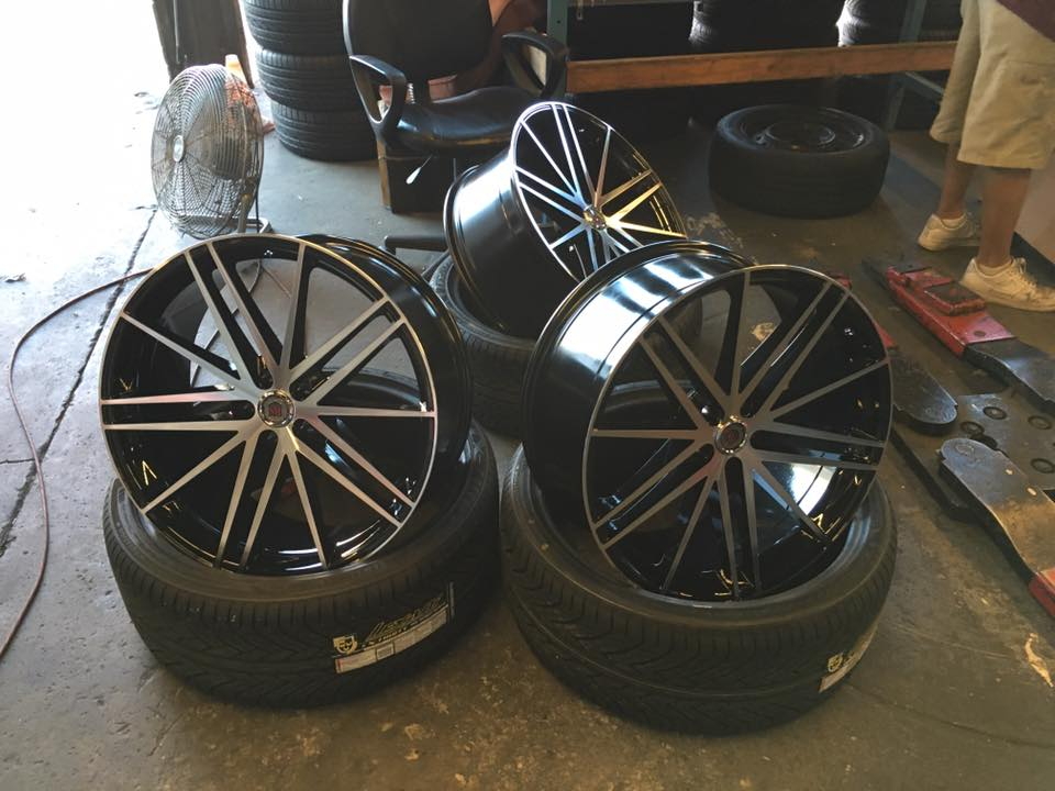 Amazing rims for your car in Escondido