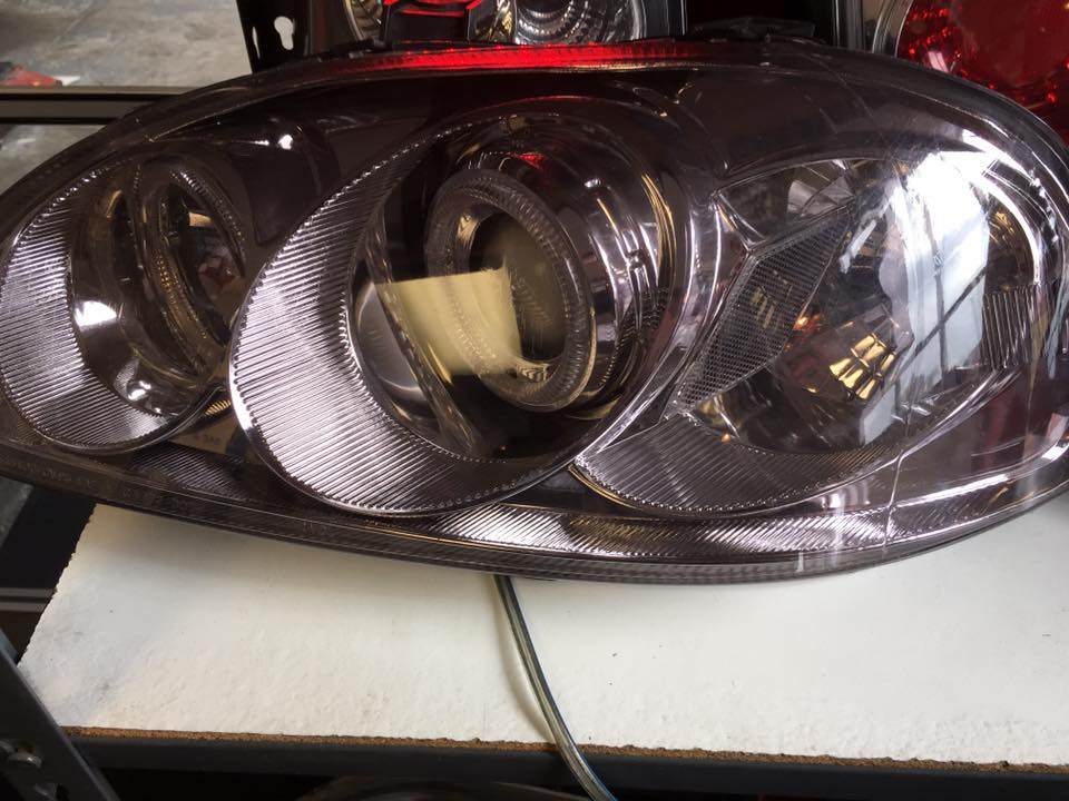 New HID headlights from Audiosport Escondido