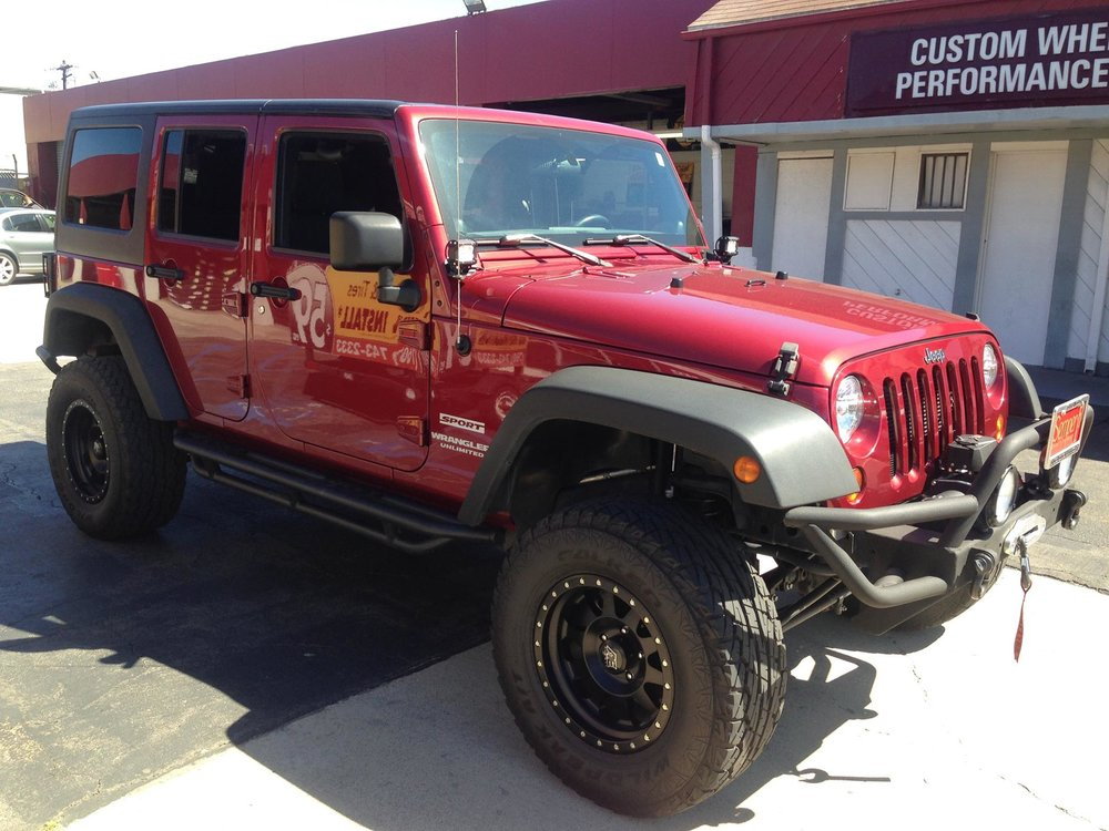 Lifted Wheels and Lift Kits in Escondido