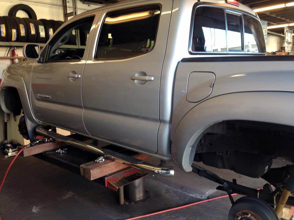 Truck Lift Kits at Audiosport Escondido