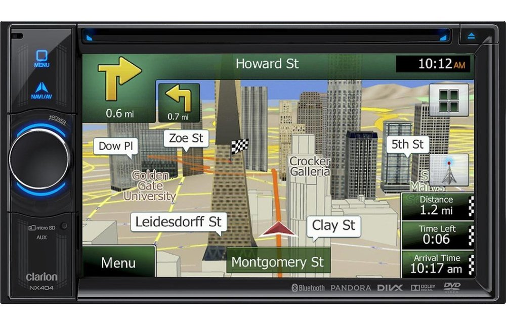 GPS Navigation System from Audiosport Escondido
