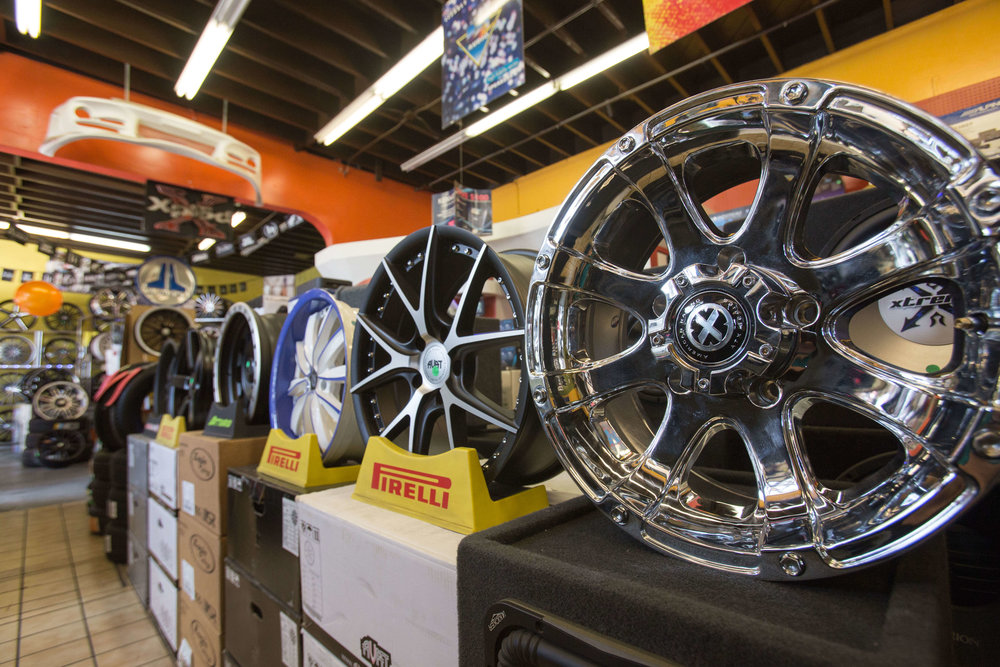 Get new rims for your car at Audiosport