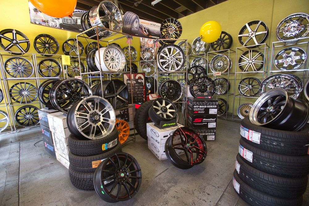 Great tires, wheels and rims from Audiosport Escondido
