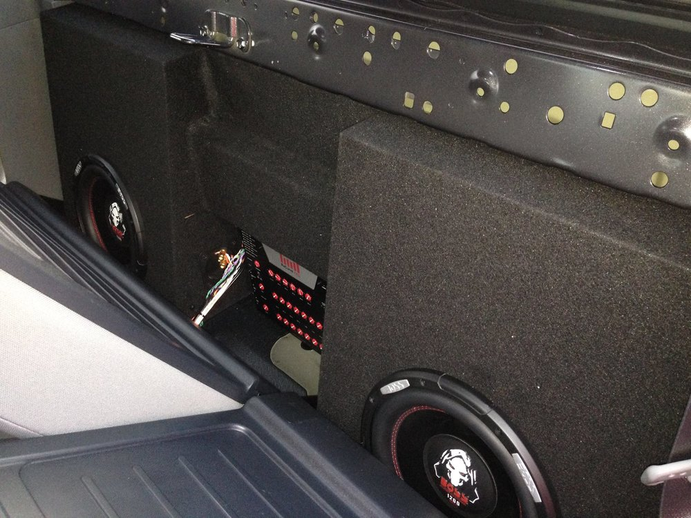 Custom Car Speaker System Installation in Escondido