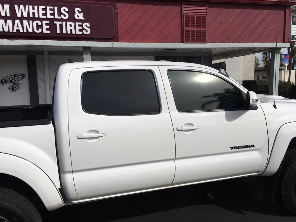 Tint your truck windows in Escondido at Audiosport