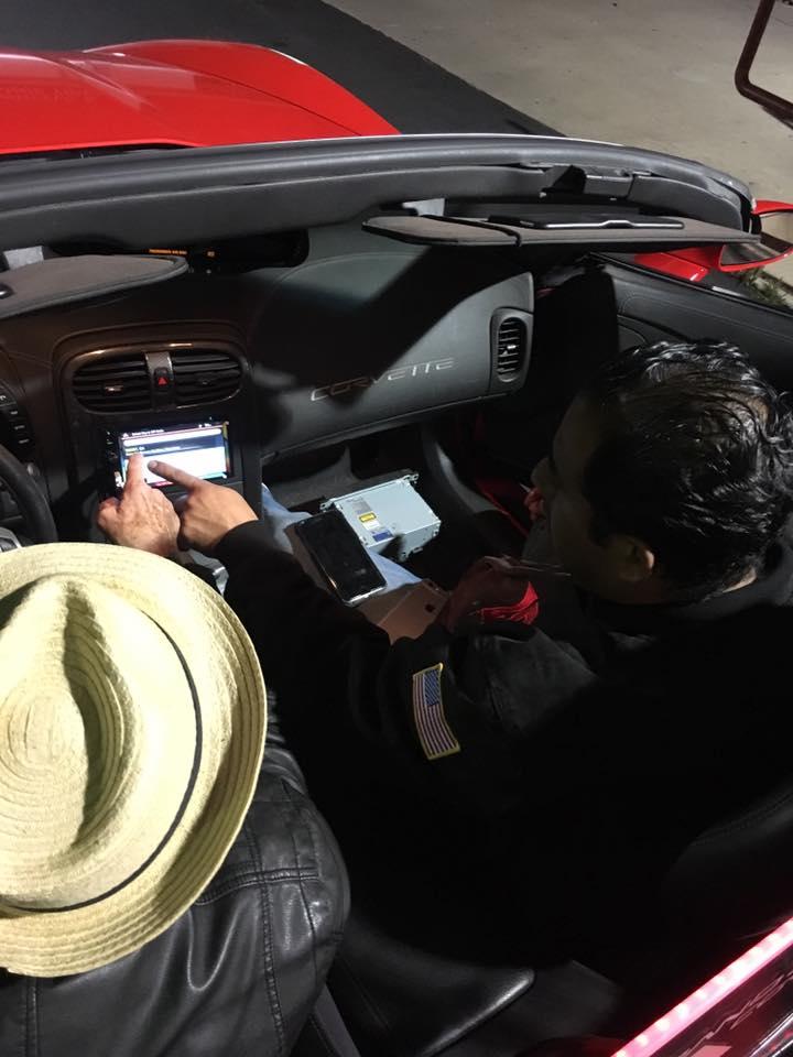Car GPS Navigation System at Audiosport Escondido