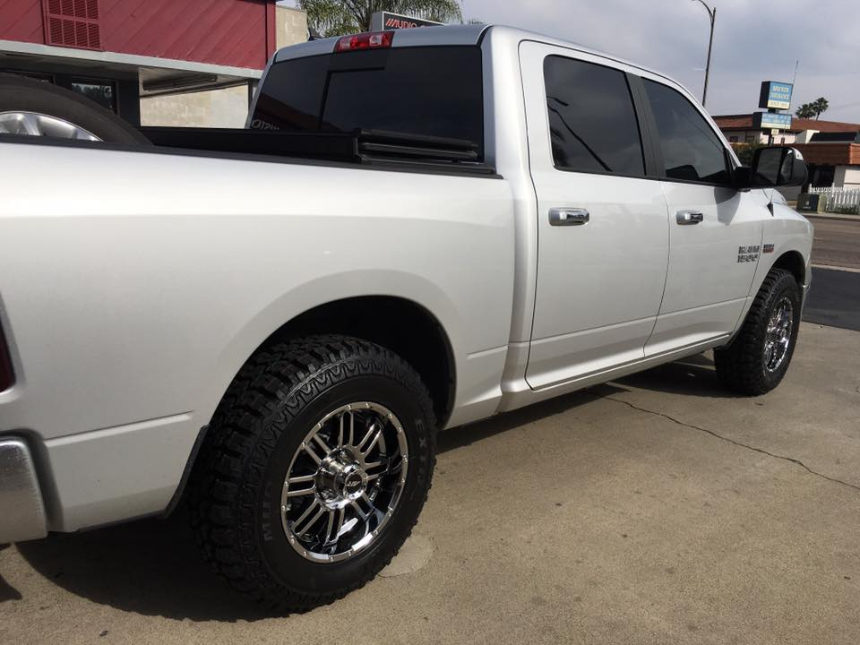 Get your truck's windows tinted in Escondido