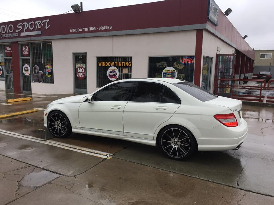 New Rims and Window Tint in Escondido