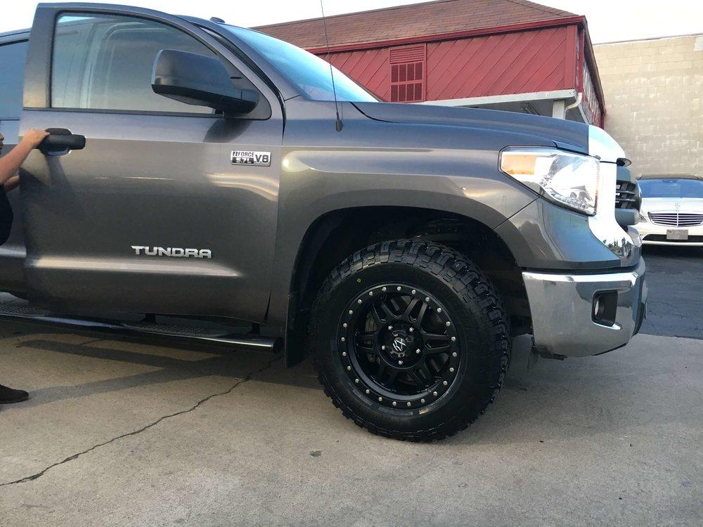 Offroading Tires & Truck Shock Installation