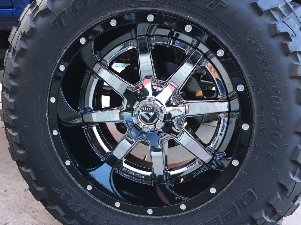 Tire Installation From Audiosport Escondido