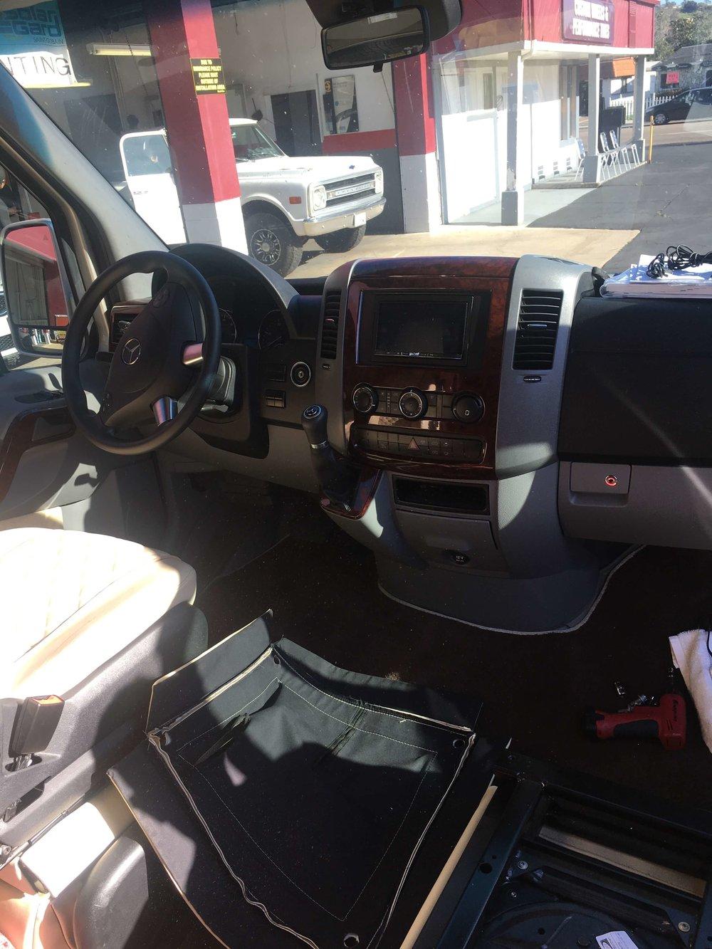 Auto Part Installation at Audiosport Escondido