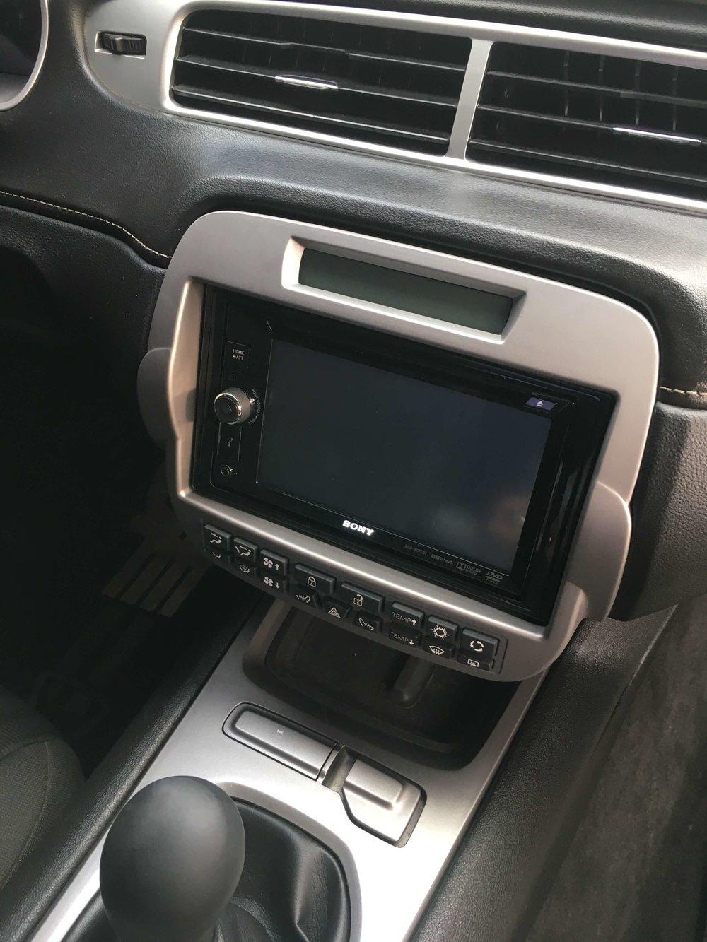 Custom GPS Navigation System Installation