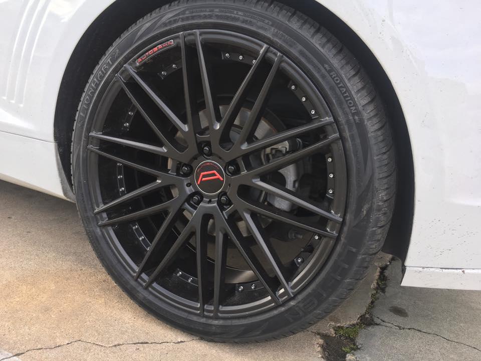 Amazing new car rims and wheels at Audiosport Escondido