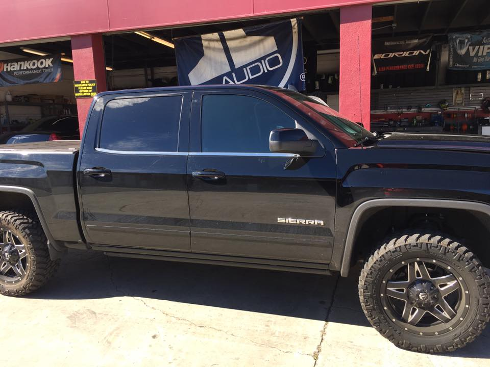 Truck Tinted Windows to Protect You From UV Rays