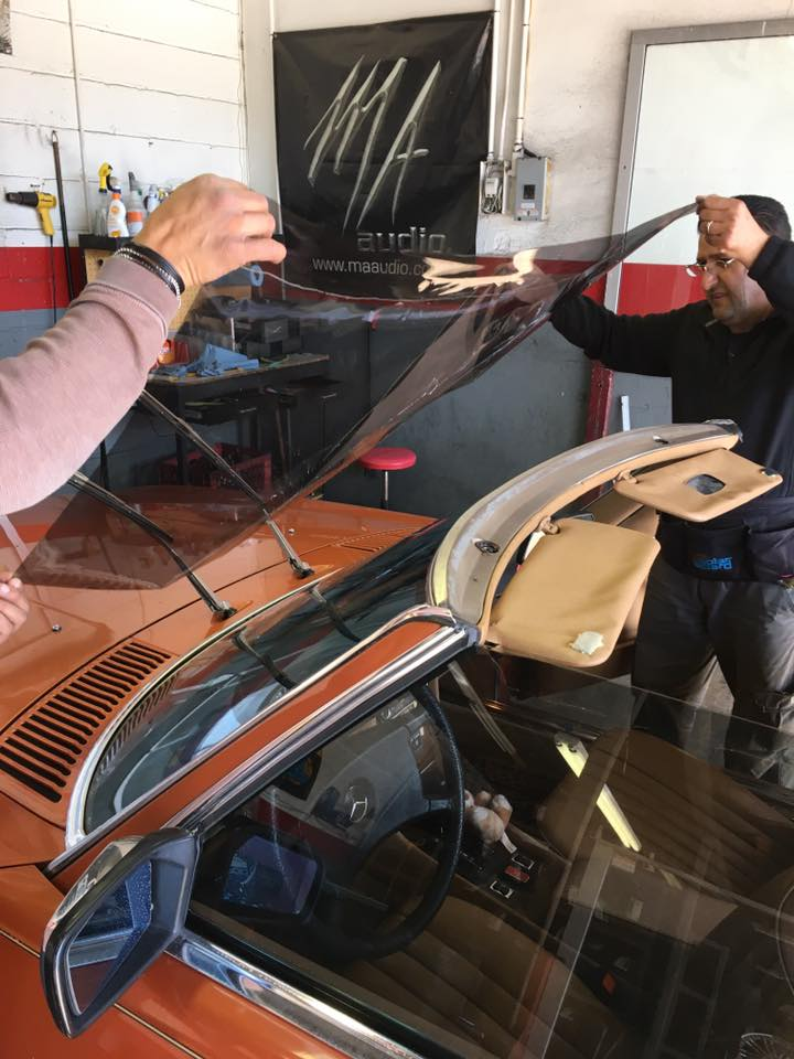 New tinted windows with window tint film in Escondido