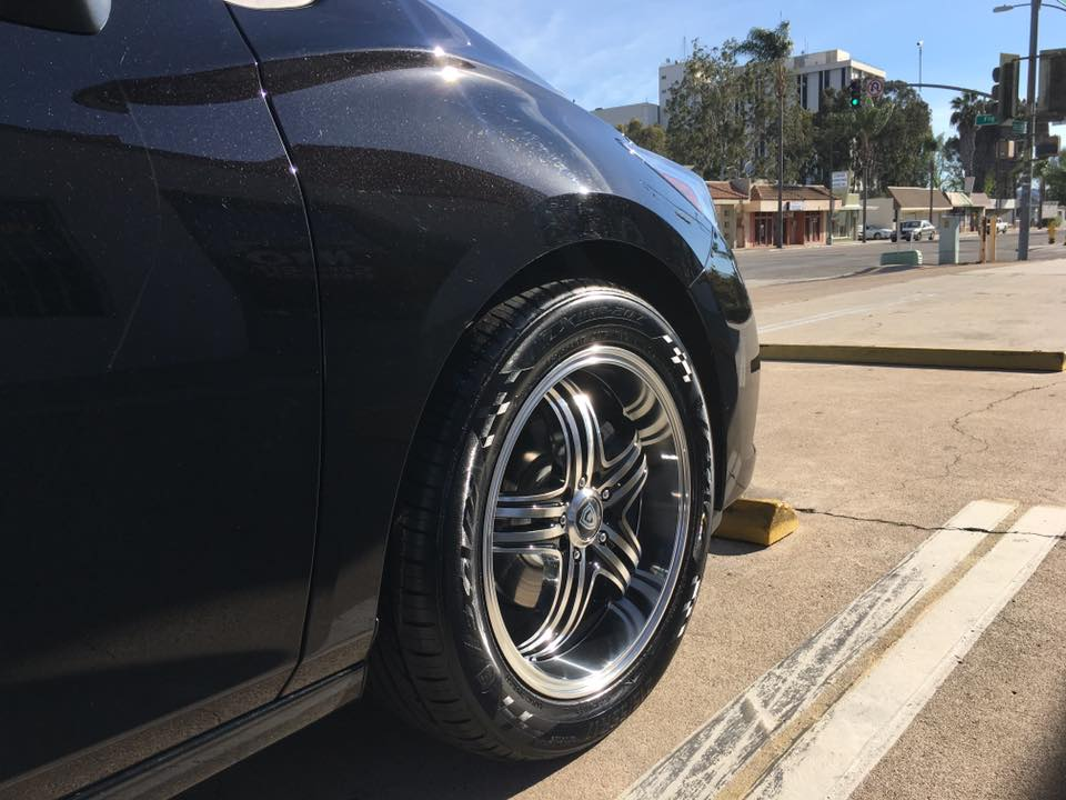 New Tires at Audiosport Escondido