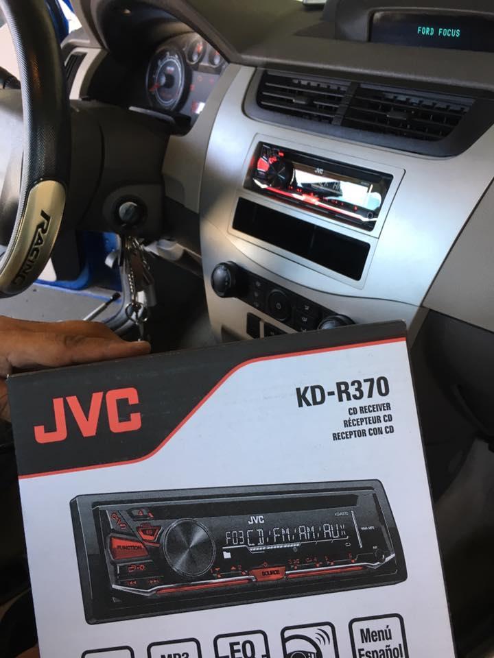 JVC Car Stereo installation in Escondido at Audiosport