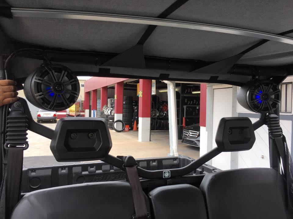 ATV and Offroading Audio Installation