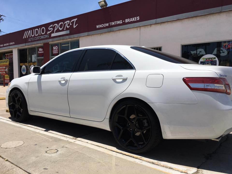 New car rim installation for best wheels in Escondido