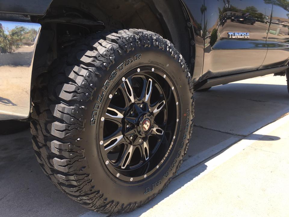 Custom rims and wheels installation at Audiosport