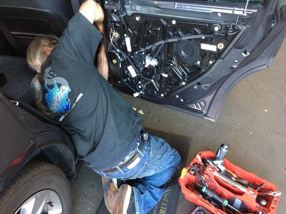 Custom Car Speaker System Installation