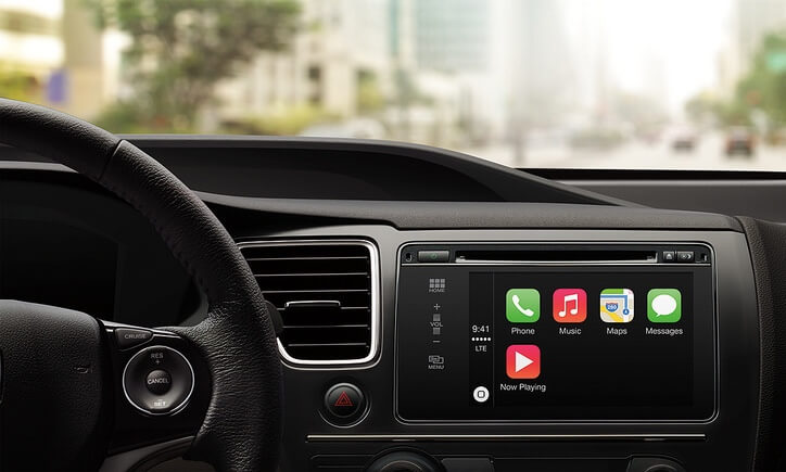 Apple CarPlay iPhone Integration at Audiosport Escondido.