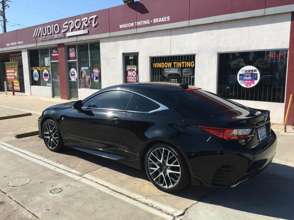 Car window tinting protects you in Escondido.