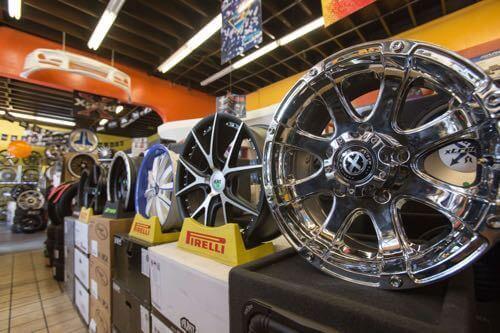 Get car wheels at Audiosport Escondido.