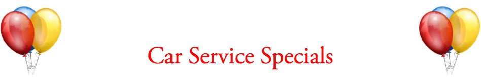 Car Service Specials From Audiosport Escondido