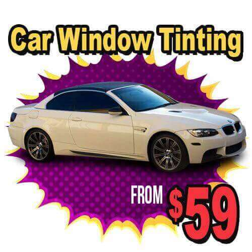 Audiosport window tinting specials