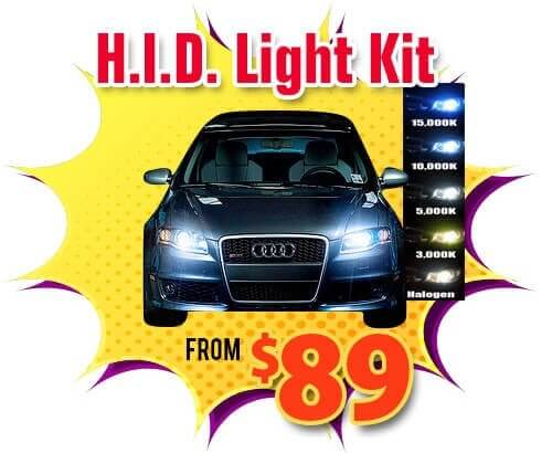 car HID headlight installation Escondido