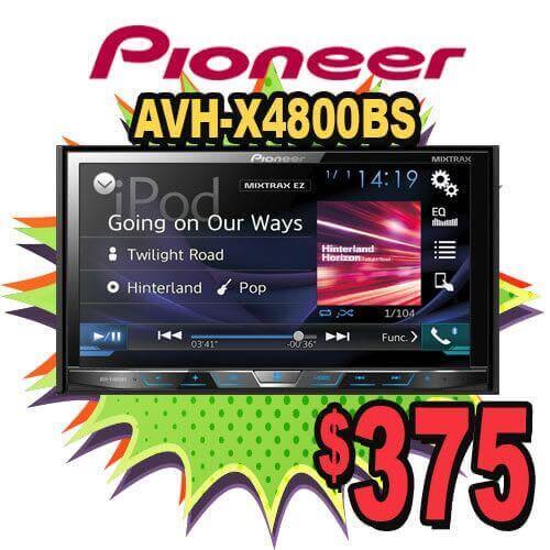Pioneer Car Stereo Specials at Audiosport Escondido