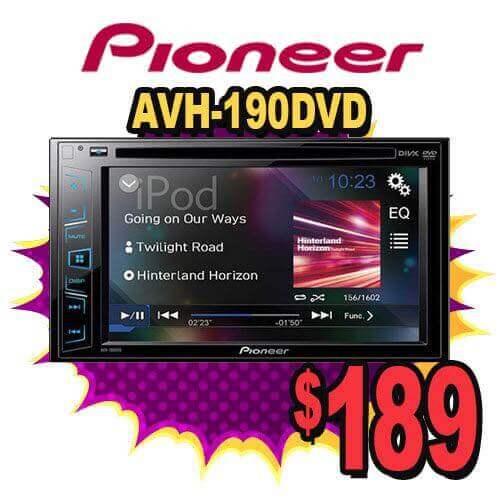 Audiosport Escondido specials for car speaker system.