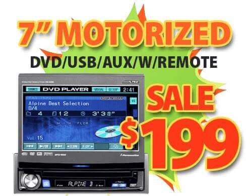 car DVD player for only $199