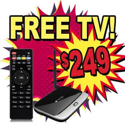free TV if you purchase a Digixstream